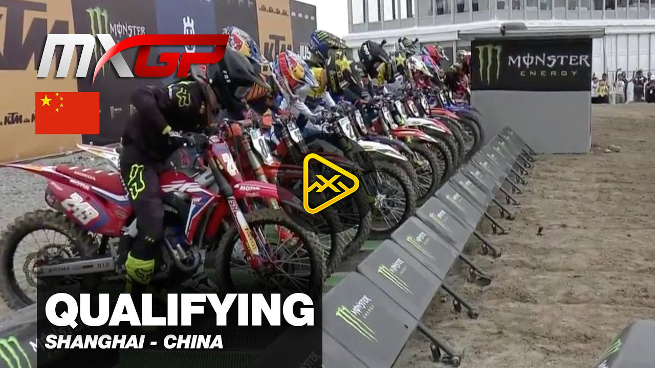 Qualifying Highlights  – 2019 MXGP of China