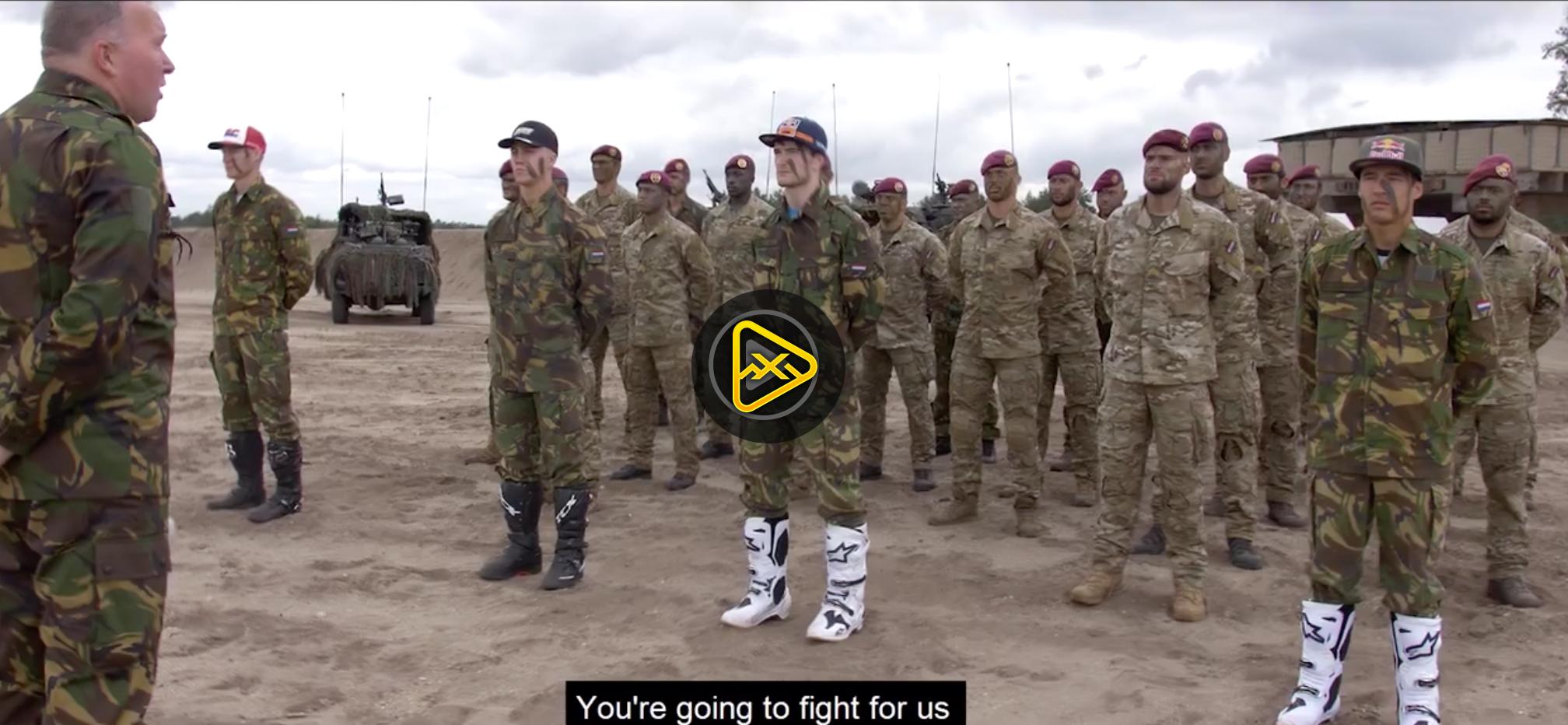 Team Netherlands Bringing 11 Luchtmobiele Brigade to MXoN