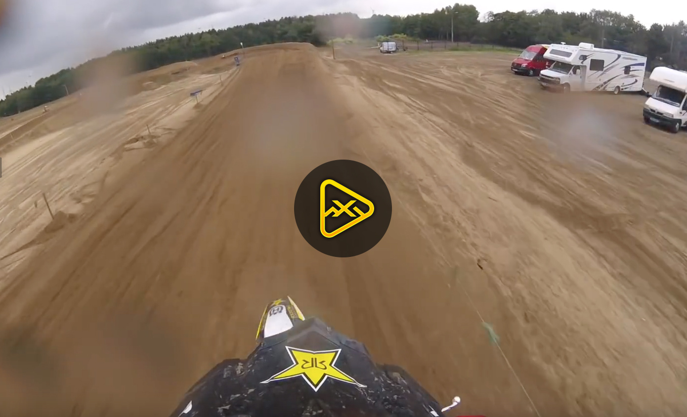 Helmet Cam: Jason Anderson at Lommel