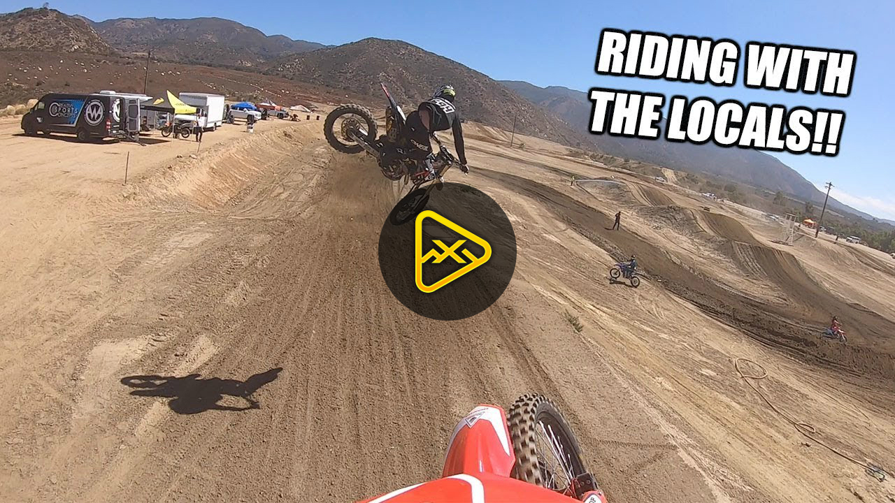 Cole Seely – Working on Some Technique at Pala!