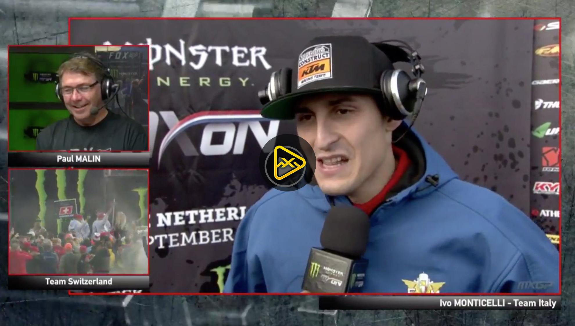 Live Now – MXoN Team Presentation Pre-Race Show