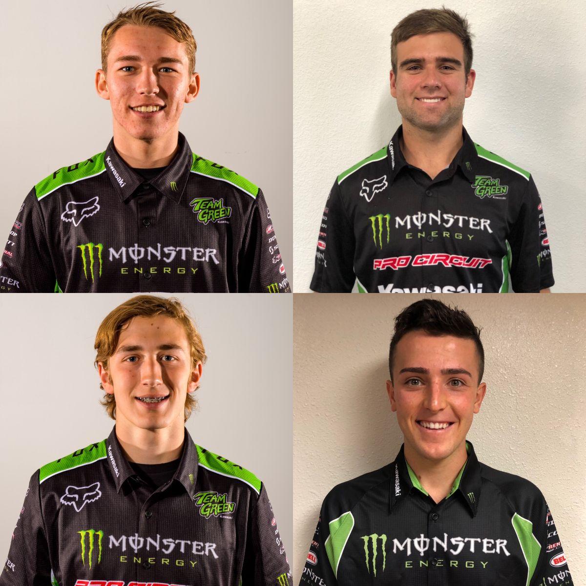 Monster / Pro Circuit / Kawasaki Announces 2020 Riders