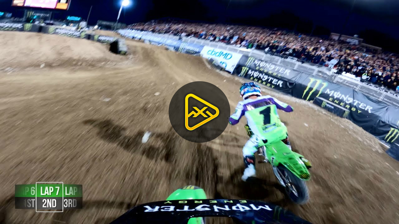 GoPro: Adam Cianciarulo's Moto 3 Win at Monster Cup