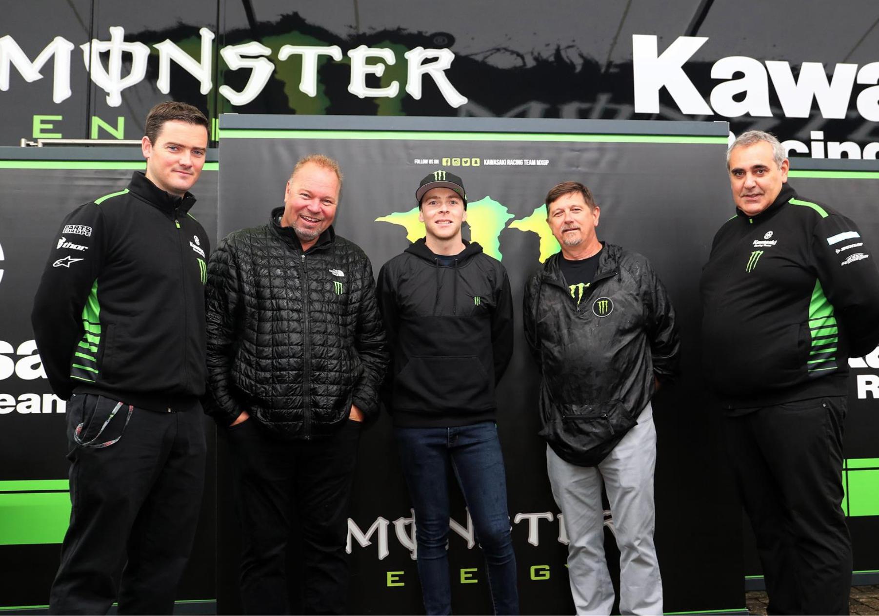 Romain Febvre Signs with KRT Kawasaki MXGP