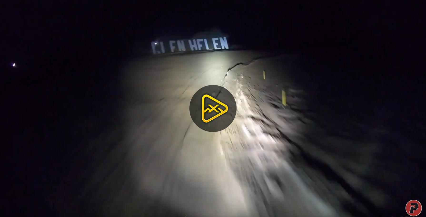 Helmet Cam: Zach Bell Night Testing for 24 hr Race