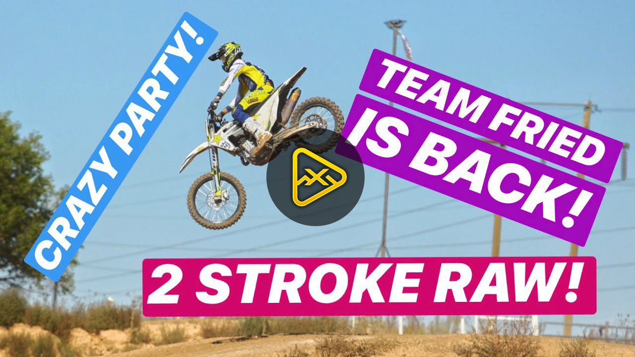 Team FRIED – Jason Anderson on Two-Stroke