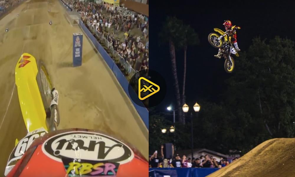 Helmet Cam Video of AJ Catanzaro's Insane Save