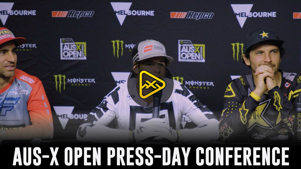 2019 AUS X OPEN – Press Conference