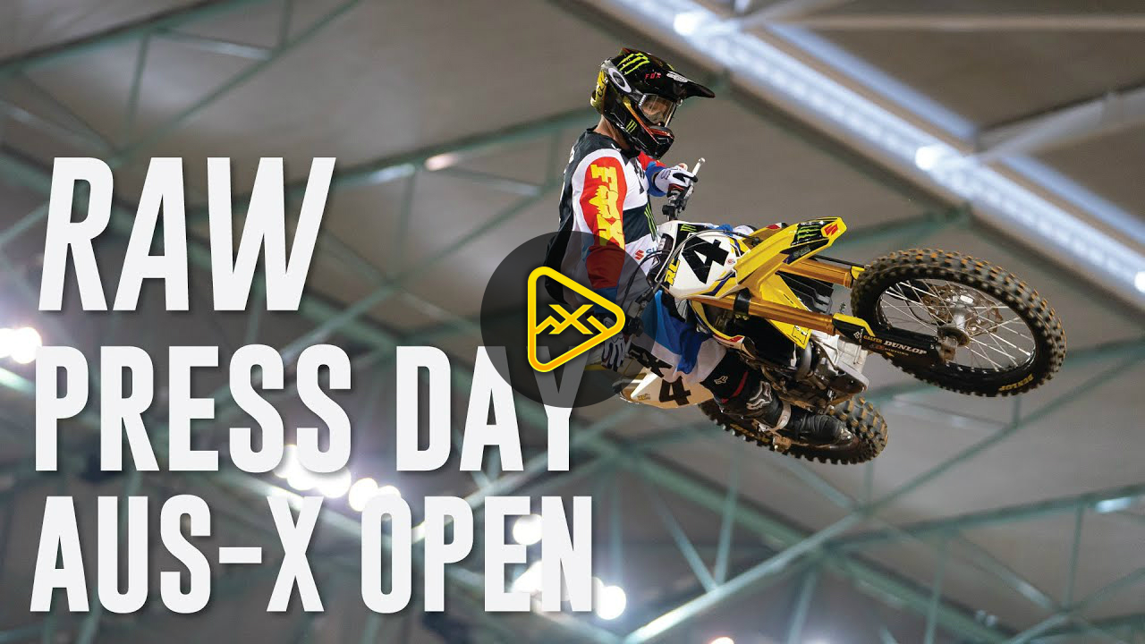 Press Day Action at 2019 AUS-X Open Sydney