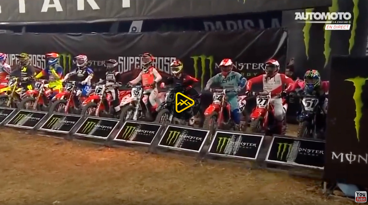 SX1 Mains –  Day 1 at 2019 Paris Supercross