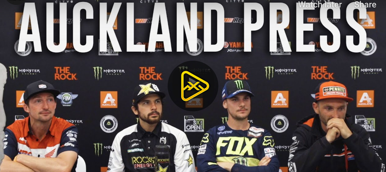 Post-Race Press Conference – 2019 AUS-X Open Auckland