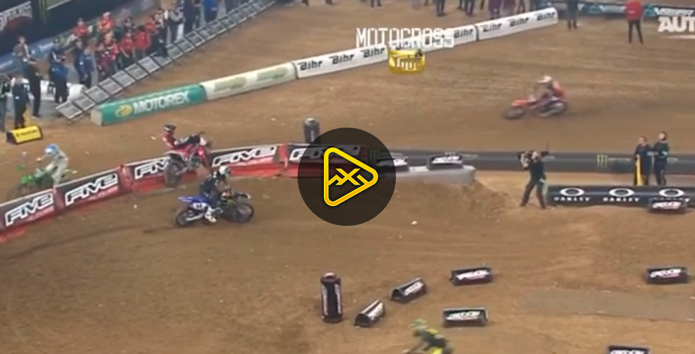 Dylan Ferrandis Takes Out Justin Hill – Paris SX