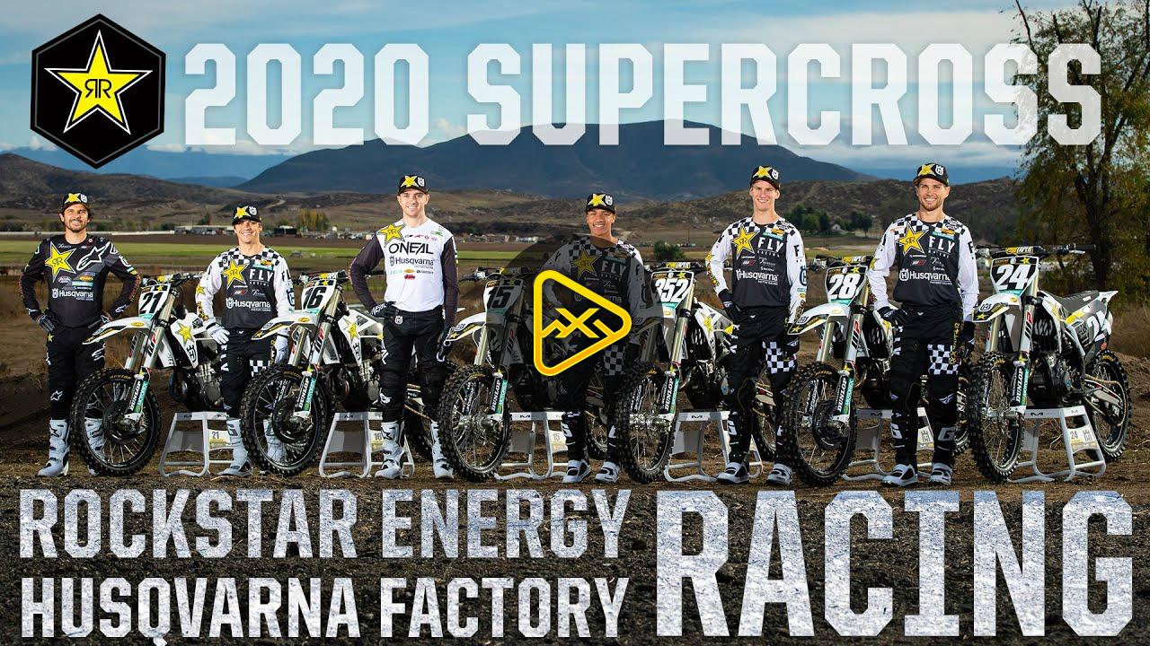 2020 SUPERCROSS | Rockstar Husqvarna Racing Intro
