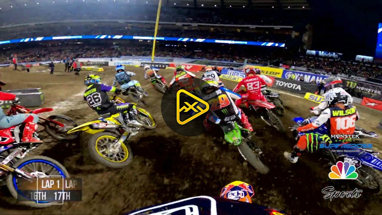 GoPro: Derek Drake – 250 Main Event Anaheim 1 SX
