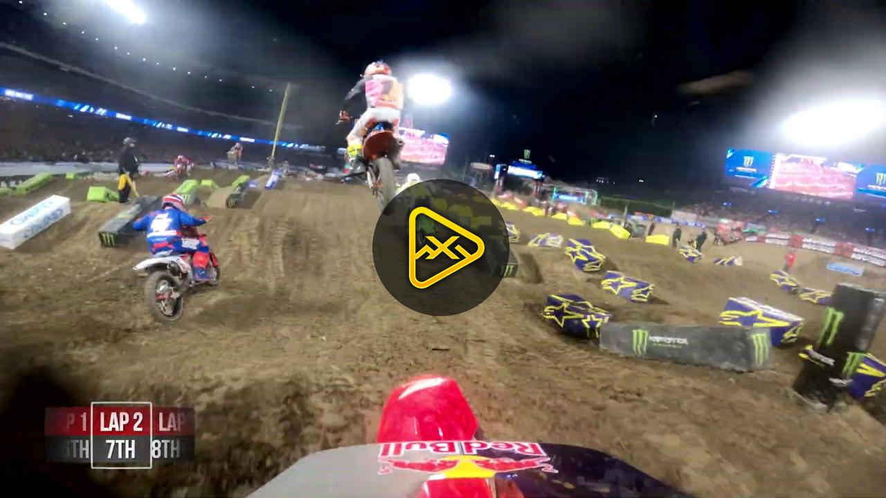 GoPro: Ken Roczen – 450 Main Event Anaheim 1 SX