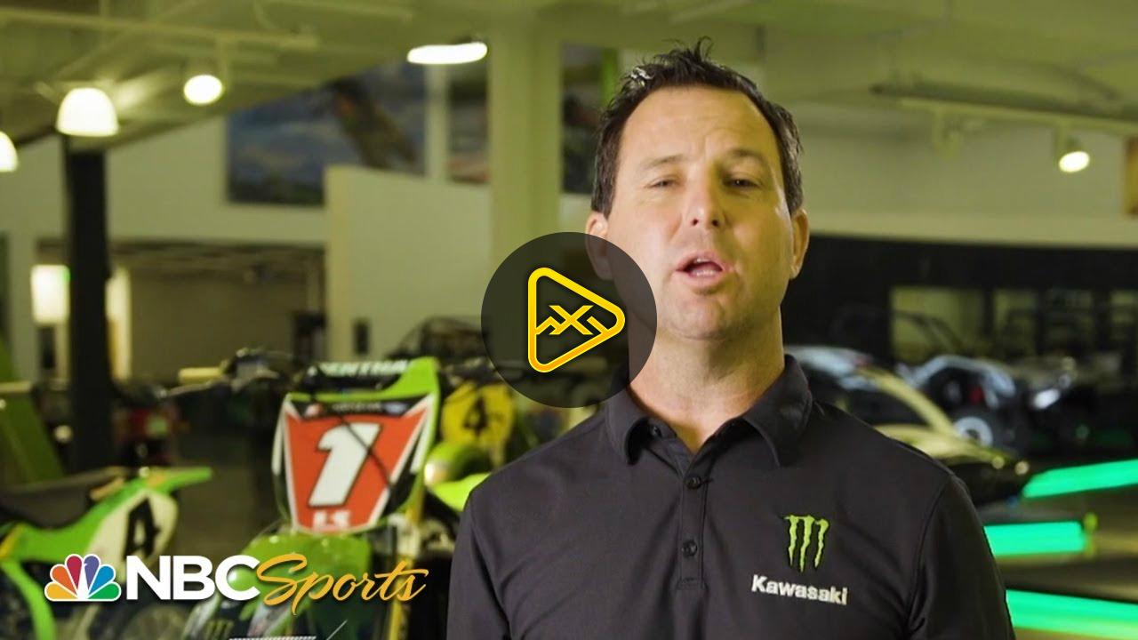 Jeremy McGrath Breaks Down Science of Supercross