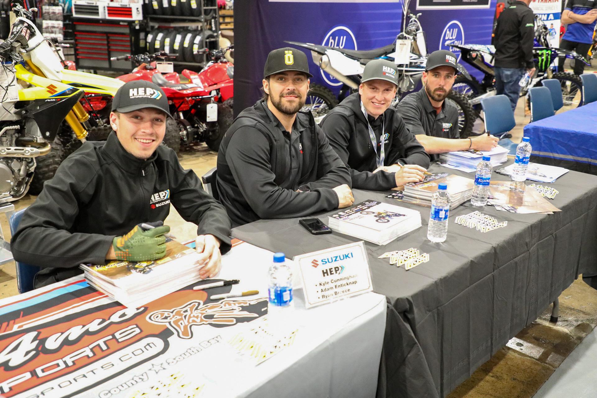 H.E.P. Motorsports Ryan Breece Steps Up in Anaheim
