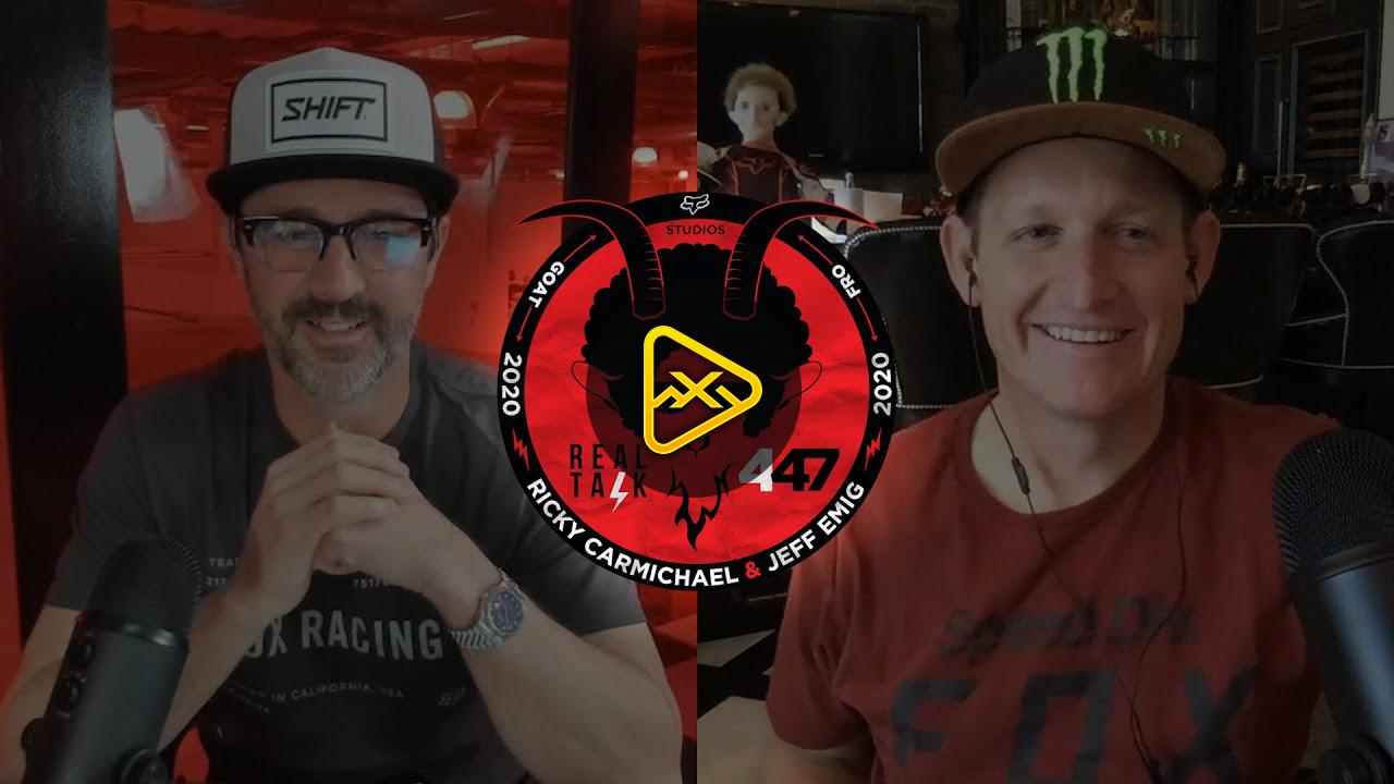 REAL TALK 447 | Ricky Carmichael & Jeff Emig | S2, EP2