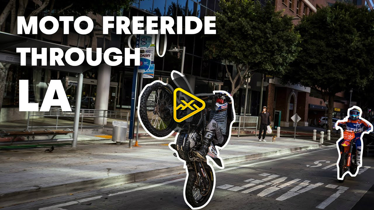 Robbie Maddison & Tyler Bereman Run Wild in LA | Duct Out