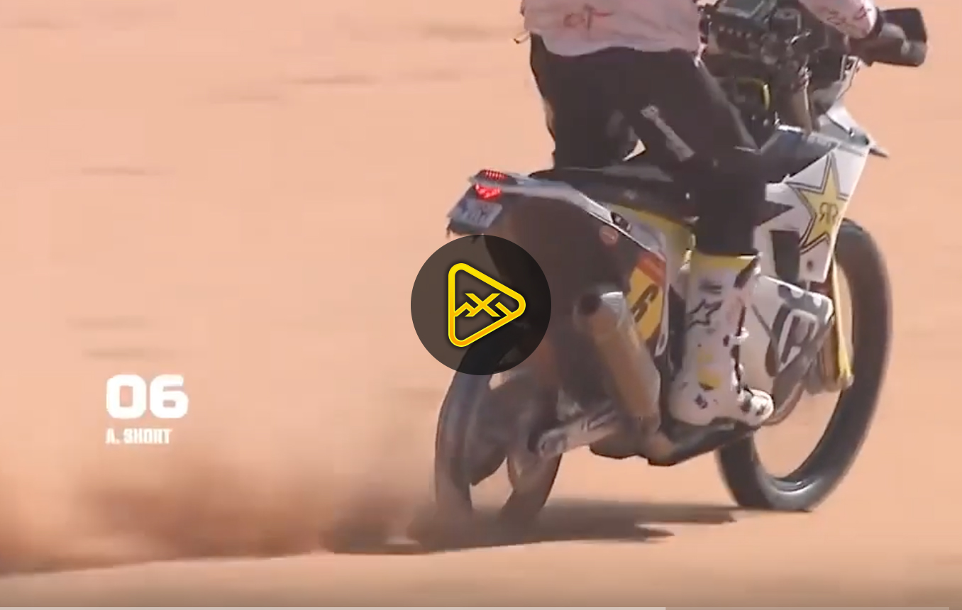 Andrew Short Finishes Stage 6 Dakar with No Rear Tire