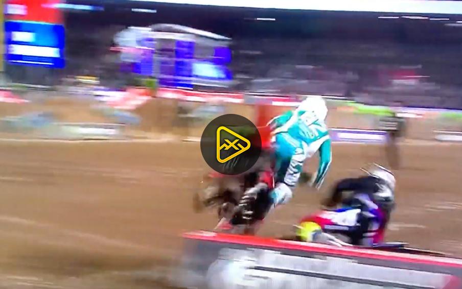 Dylan Ferrandis Torpedos Christian Craig – Anaheim 2 SX