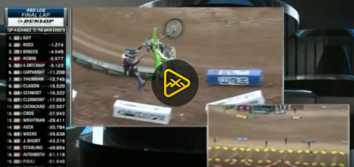 Josh Cartwright Loop's Out – Glendale SX