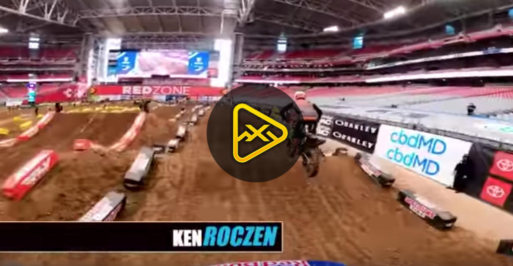 GoPro: Ken Roczen 2020 Glendale SX Qualifying