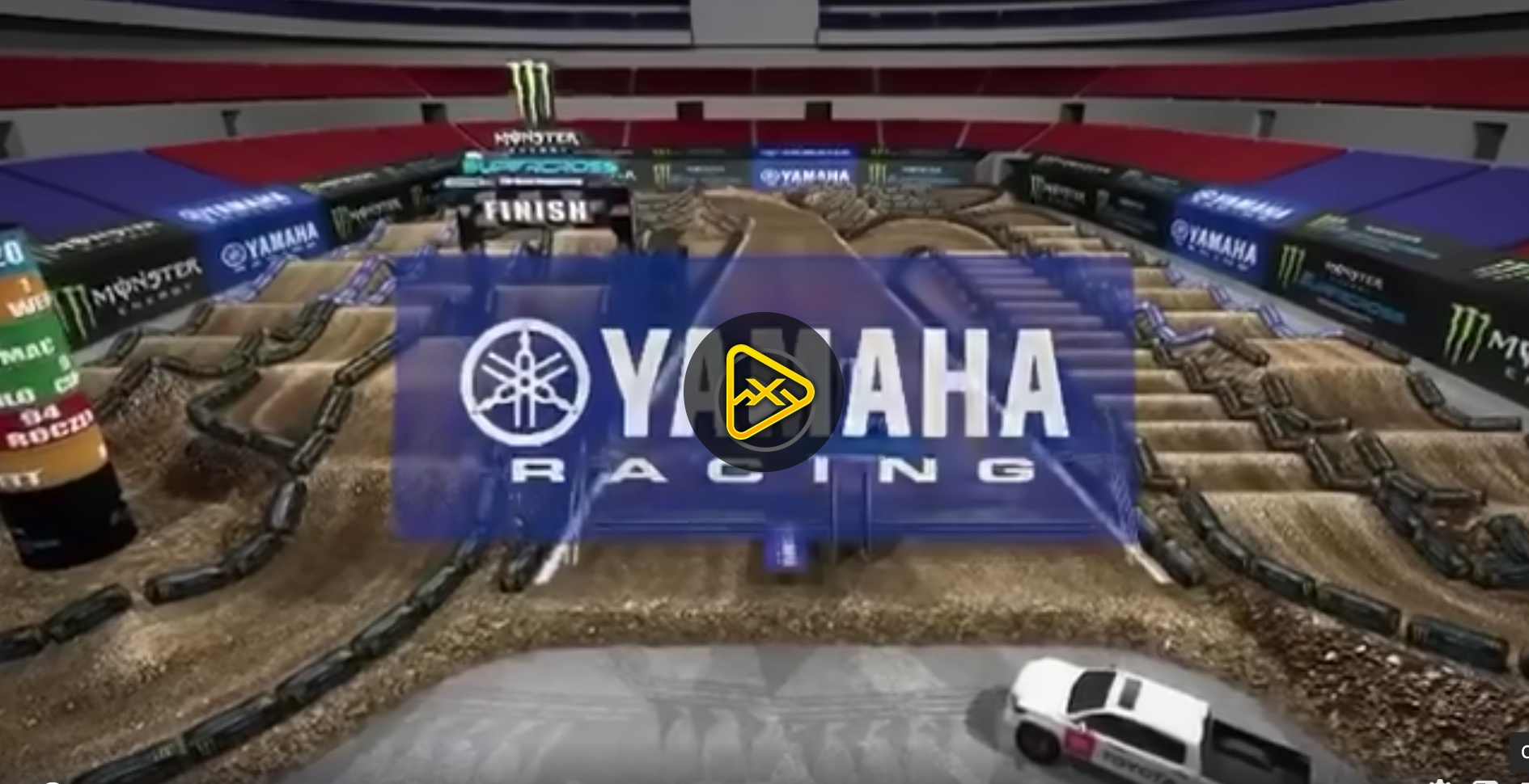 2020 St Louis SX Animated Track Map