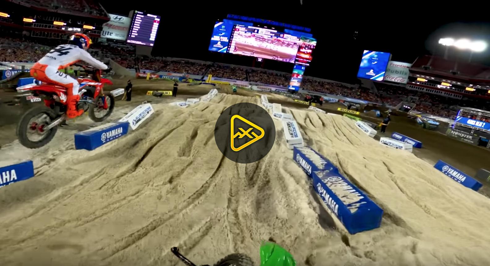 GoPro: Adam Cianciarulo and Ken Roczen Battle at Tampa