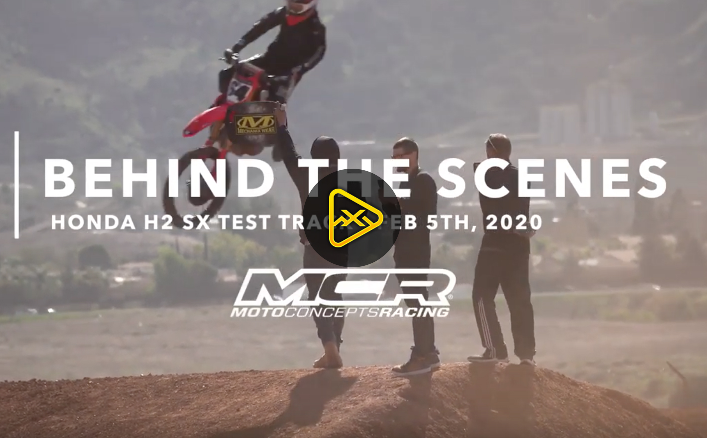 Behind the Scenes with MCR / Honda at Test Track