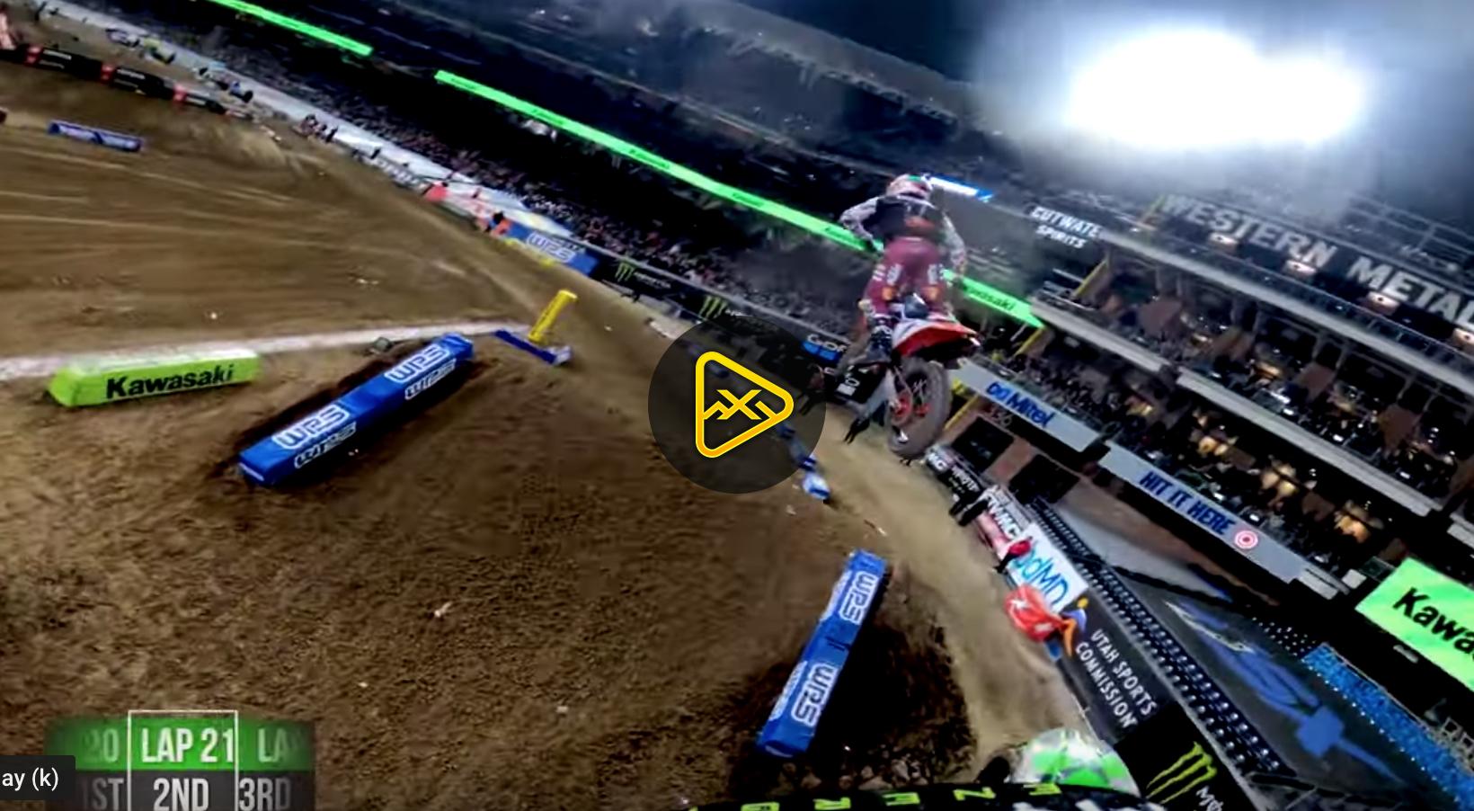GoPro: Adam Cianciarulo Battles Cooper Webb in San Diego
