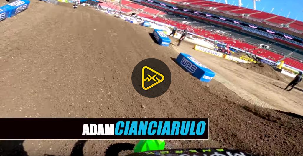 GoPro: Adam Cianciarulo at 2020 Tampa SX