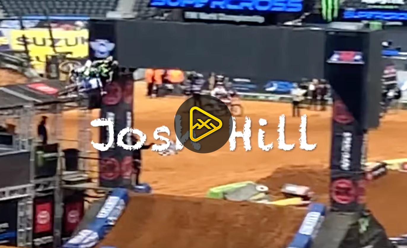 Josh Hill Interview – Arlington SX Press Day