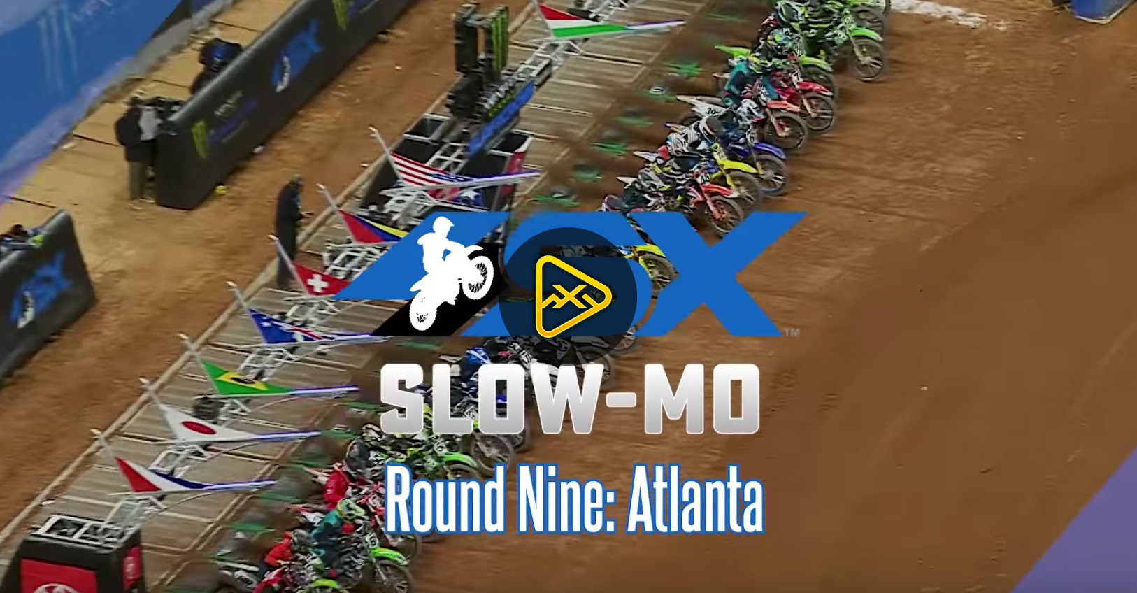 SX in Slow Motion – 2020 Atlanta SX