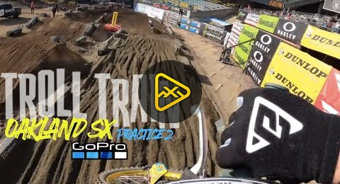 Troll Train – GoPro Full SX Practice from Oakland