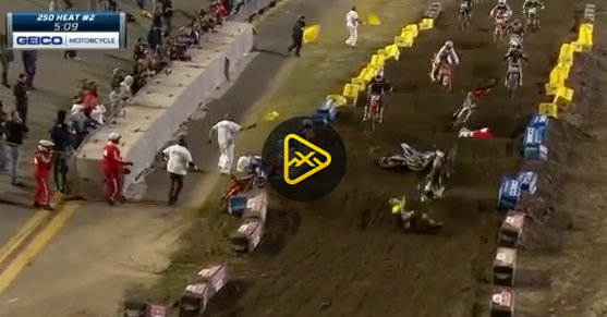 Whoop Section Claims Victims – 2020 Daytona SX