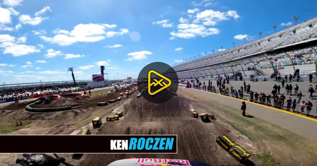 GoPro: Ken Roczen Hot-Lap – 2020 Daytona SX