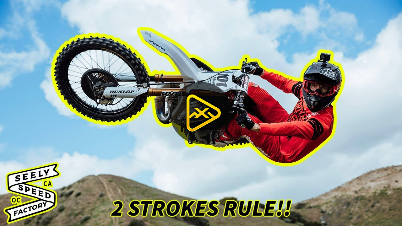 Cole Seely 250 Two Stroke In the Hills Vlog!