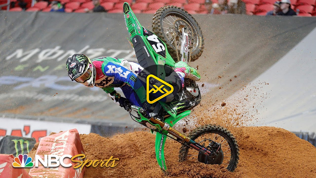 Wildest moments from the 2020 Supercross so far