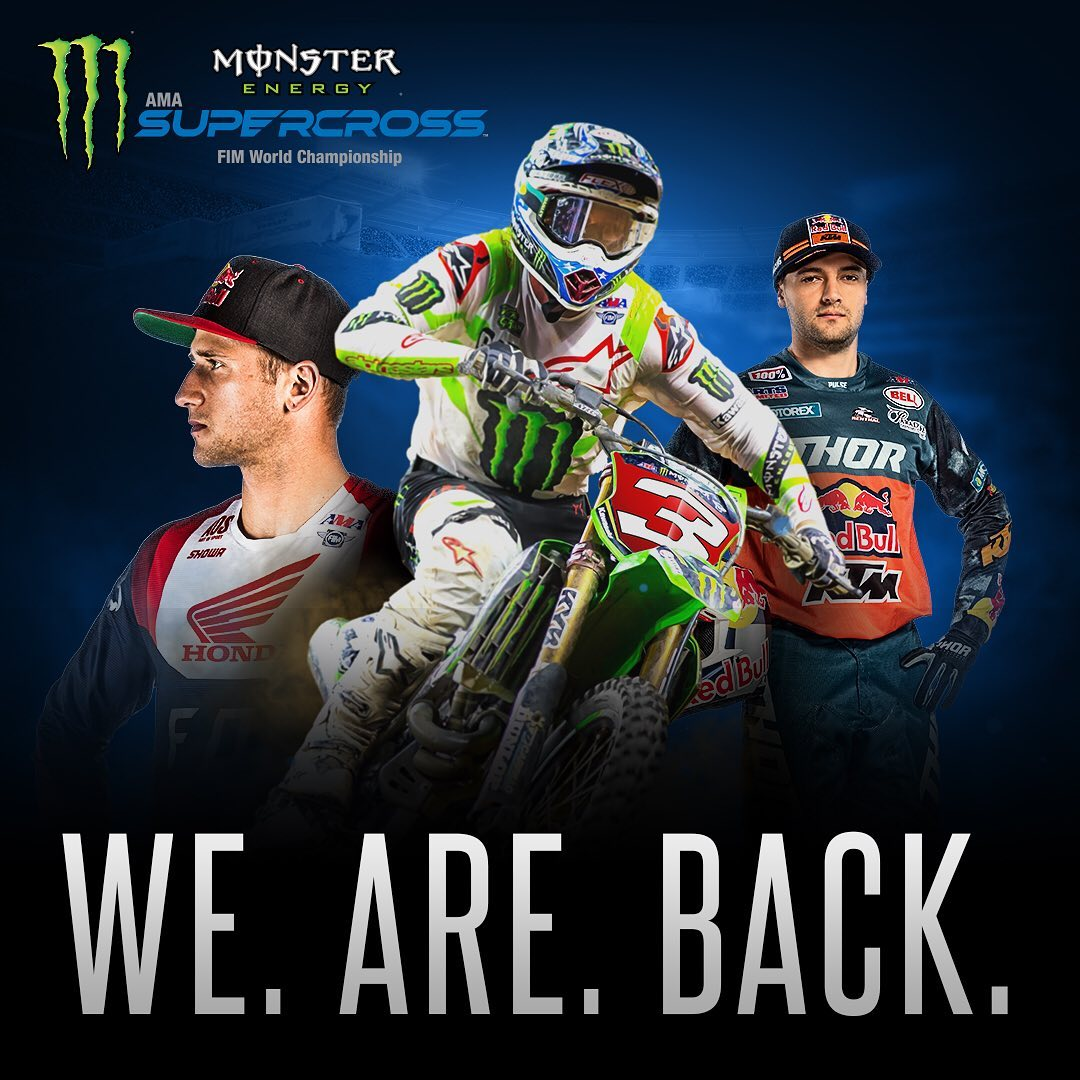 "Monster Energy Supercross ""We Are Back"""