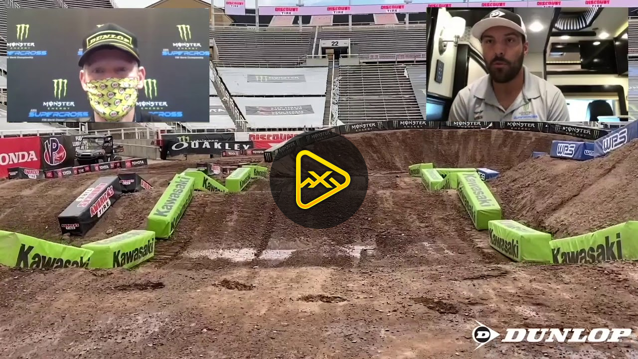 Track Walk – Round 11 Salt Lake City 1 SX
