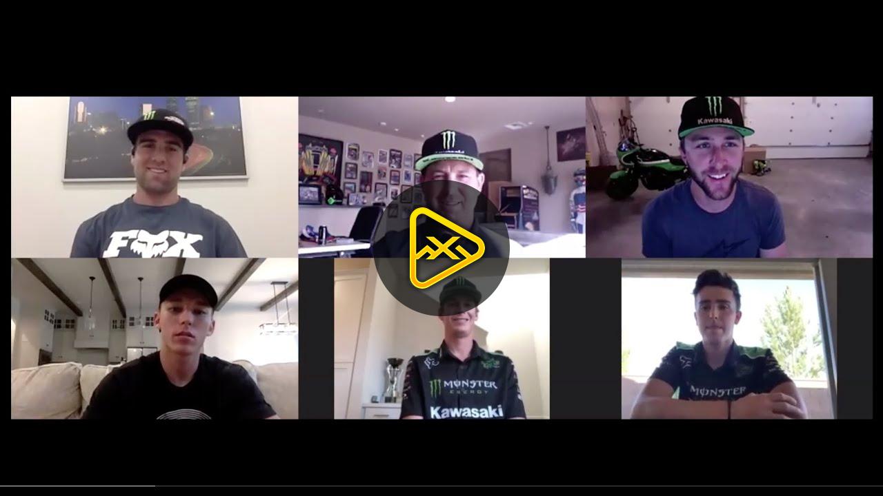 Kawasaki Racing Team Meeting – Salt Lake City SX
