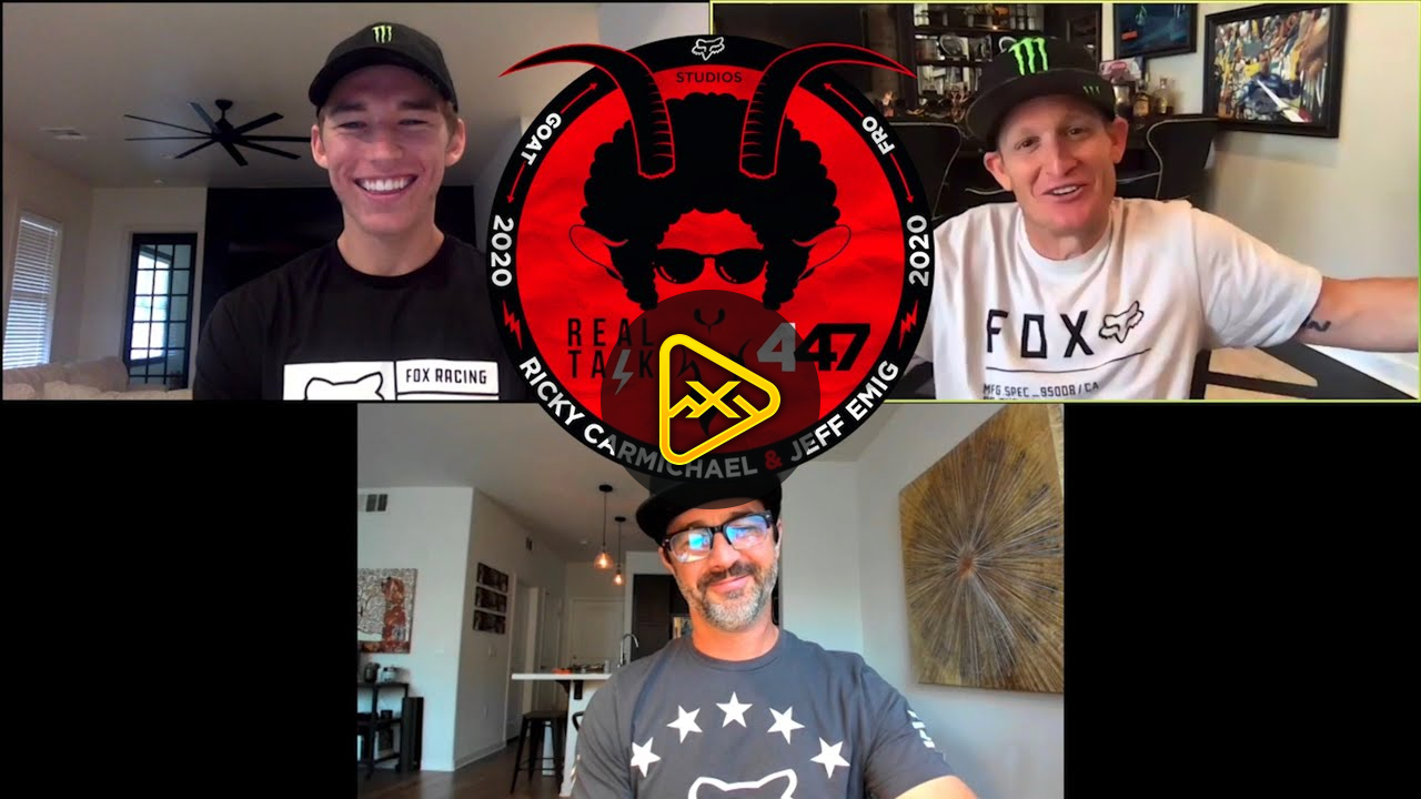 REAL TALK 447 I Forkner joins Ricky Carmichael and Jeff Emig