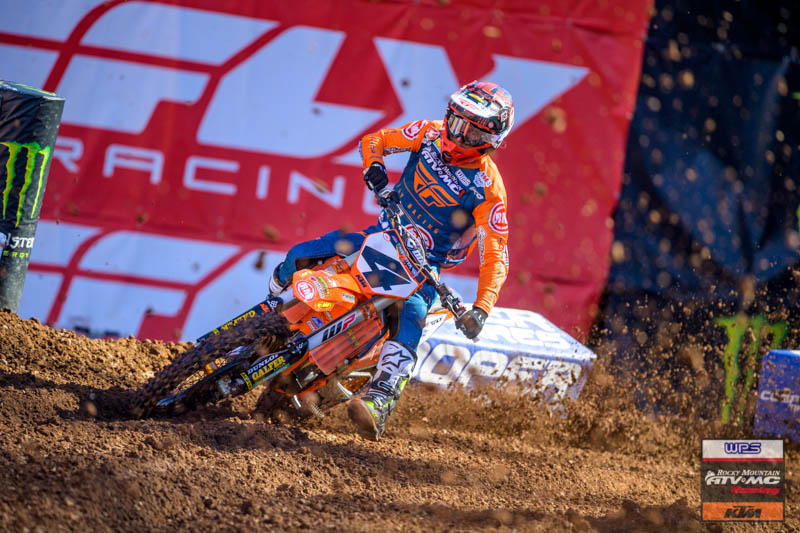 Baggett 10th, Bloss 11th at Salt Lake City 6 SX