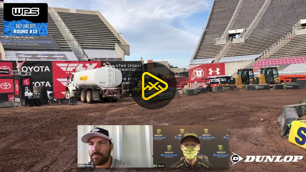 Track Walk – Salt Lake City 2 SX – Rd12