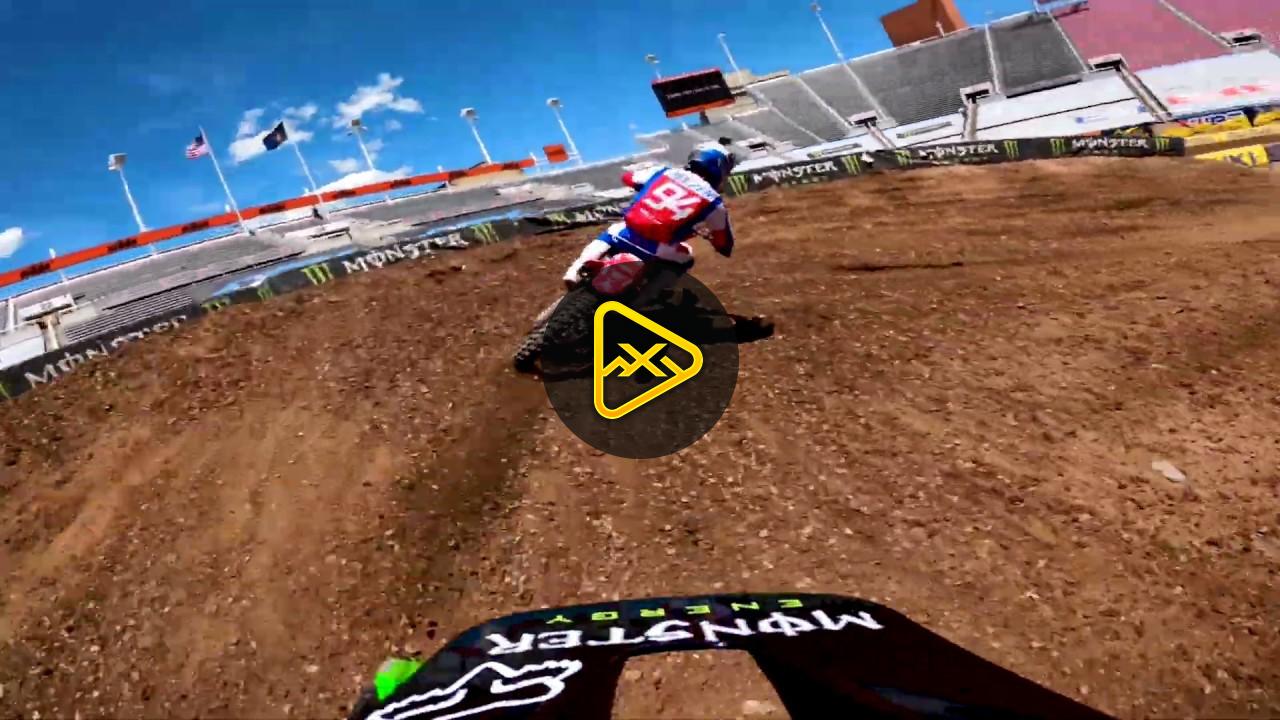 GoPro: Adam Cianciarulo Heat at Salt Lake City SX – Rd 11