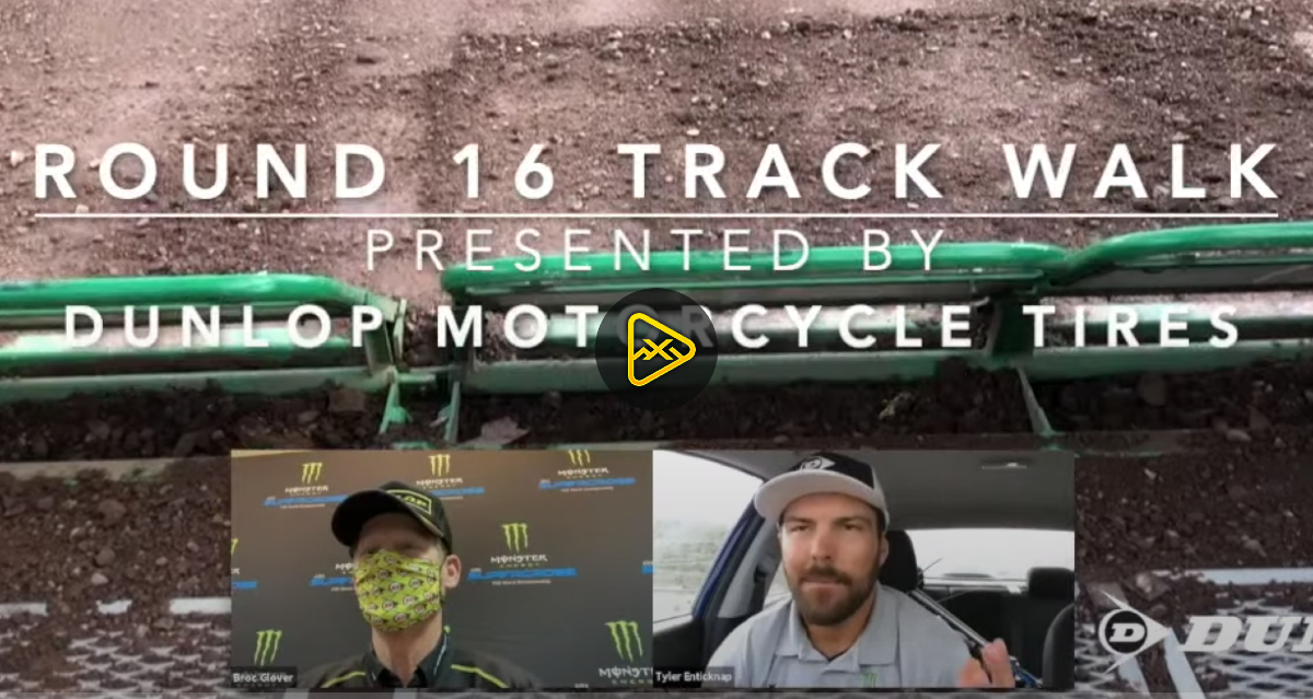 Track Walk – Salt Lake City SX – Rd 16