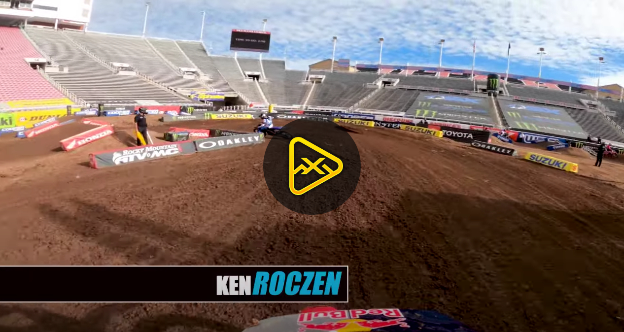 Helmet Cam: Ken Roczen at Salt Lake City SX – Rd17