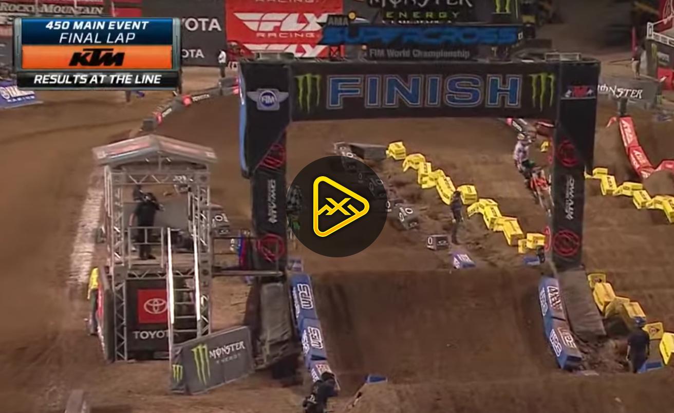 450SX Highlights – 2020 Salt Lake City SX – Rd12