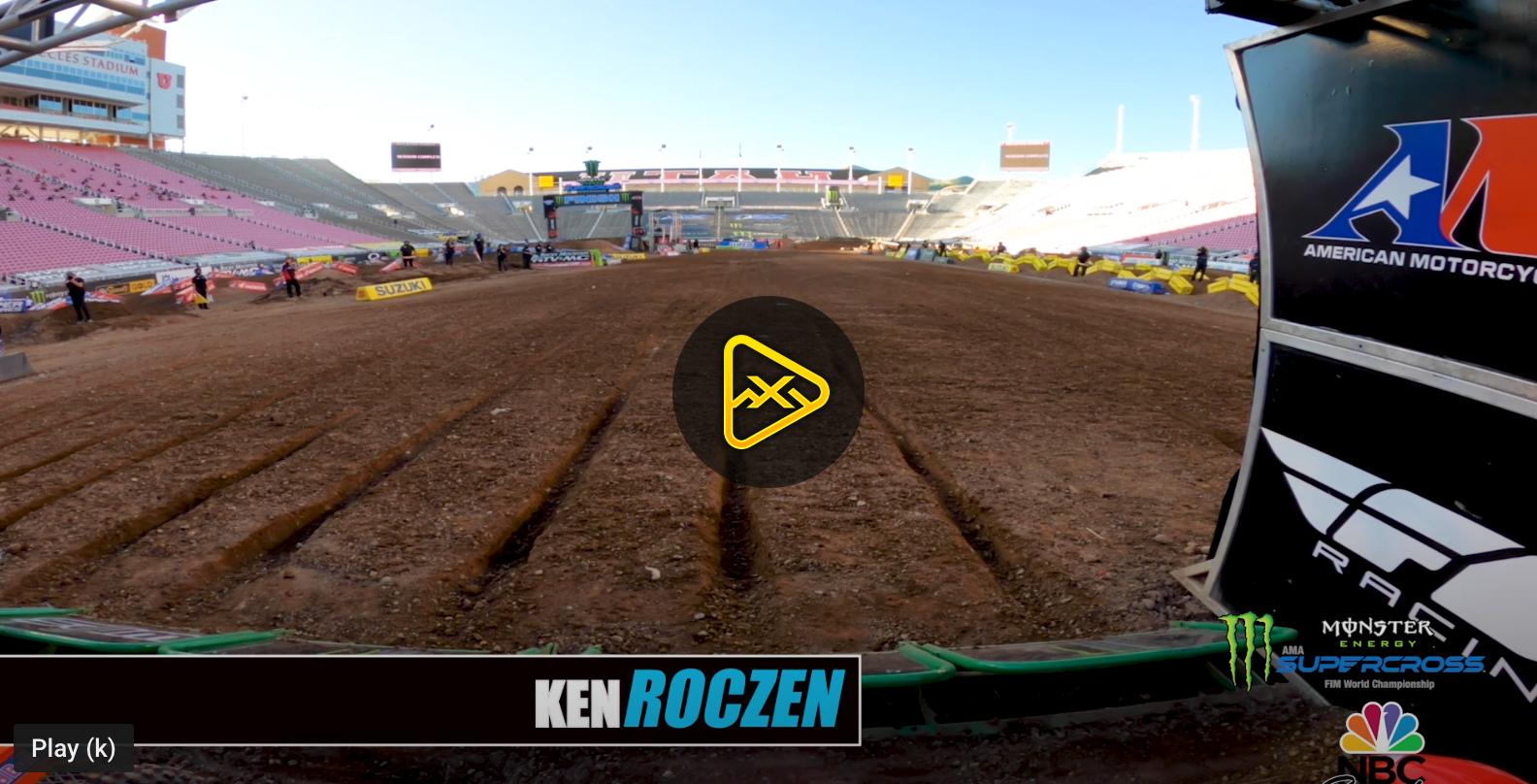 GoPro: Roczen Battles Webb at Salt Lake City SX